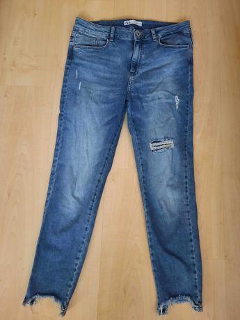 Дамски дънки Zara 42