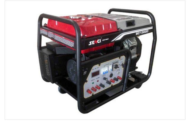 Генератор бензиновый 12 кВт 220/380 движок