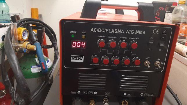 Aparat de sudura AC/DC+ PLASMA+ MMA , 200