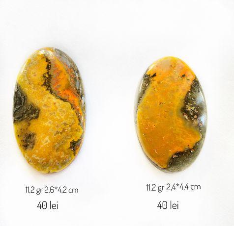 Piatra Jasp Bumble Bee naturala 3,5 lei/gr