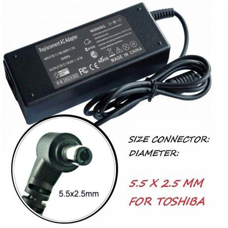 Зарядно за лаптоп 220V-90W /19V 5.5mm X 2.5mm YDS90. За ASUS/TOSHIBA