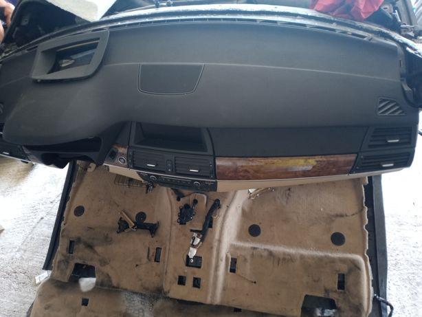Planșa bord BMW X5 e70 an 2010 ,kit airbag uri +centuri