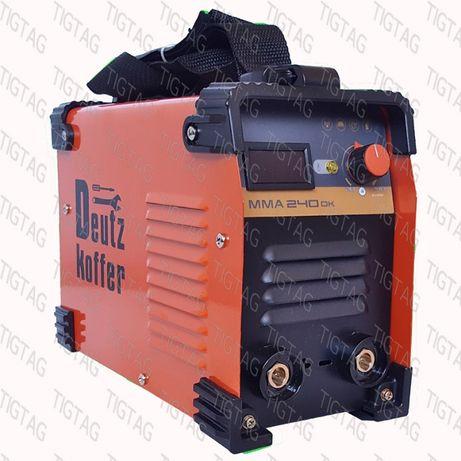 Инвенторен електрожен Deutz Koffer ММА 240DK