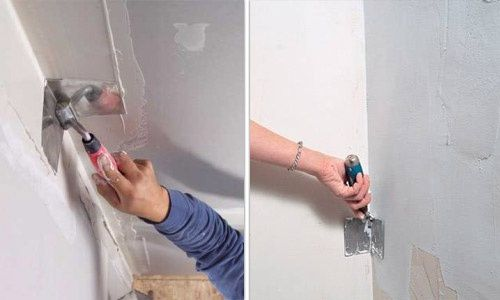 Шпаклевка-левкас стен потолков. Армирование стен. Выравнивание стен.