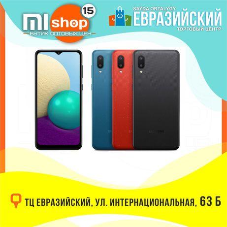 MiSHOP15 Samsung Galaxy A02 (ТЦ Евразийский,  1 этаж, ул. Букетова 52)