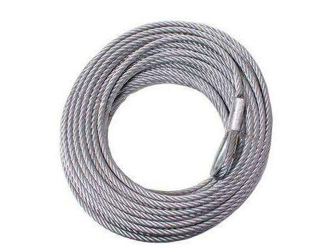 Cablu de oțel pentru troliu 9,5 mm / 25 m PowerWinch