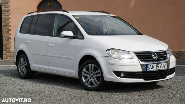 Volkswagen Touran 7 Locuri Facelift an 2007, 2.0 Tdi (Diesel) Vw