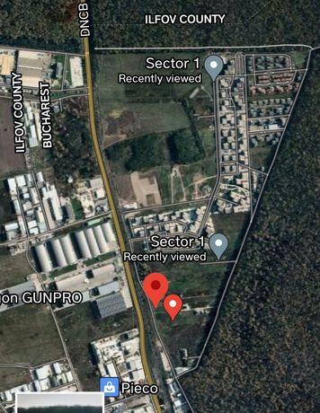 Teren stradal intravilan zona case Greenfield, sector 1 Baneasa