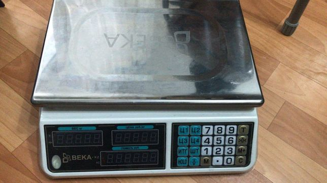 Продам весы б/у, в хорошем состоянии , фирма Века АСS-С2