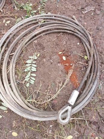 Cablu tractare pentru utilaje mari