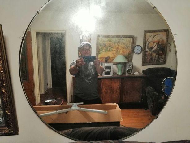 Oglinda venetiana din cristal
