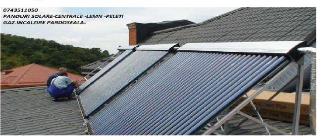 execut instalatii termice -solare pardoseala