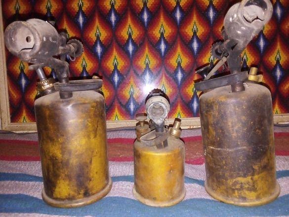 Бензинова месингова горелка.