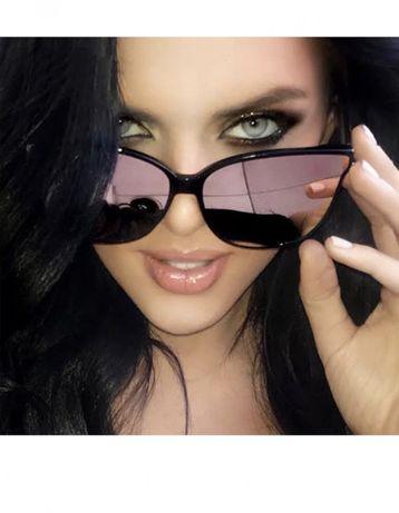 Ochelari soare 2019 Oglinda Rose Gold stil Vogue Mirror roz Oversized