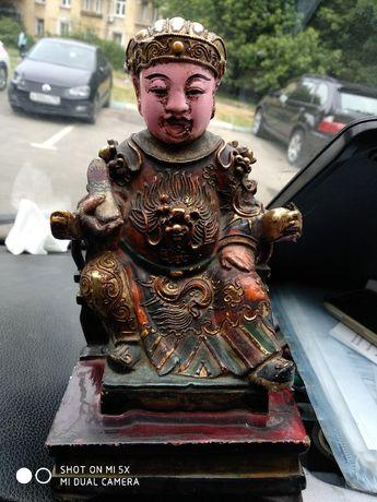 Продам старую китайскую статуэтку. Примерно 19 век.