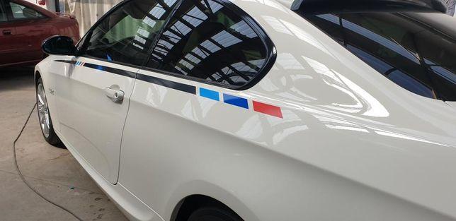 Shadow Line Colant Autocolant Linii M BMW Performance Mtech
