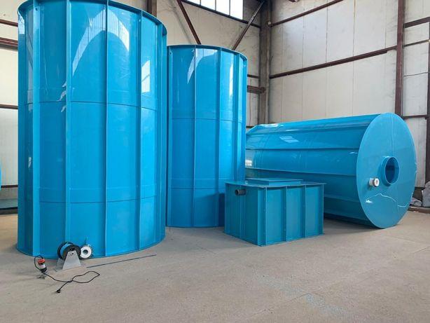 Емкости и резервуары от 1 до 1000 м3 (Собственное производство)