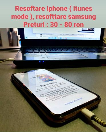 Resoftari apple iphone ( itunes mode ), samsung - google acount