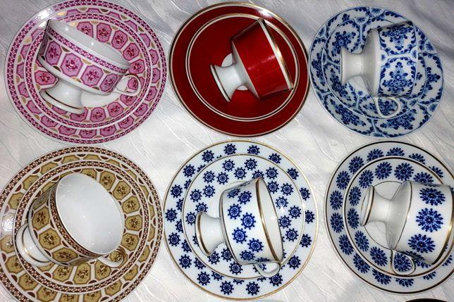 8 seturi mic dejun, Lichte Pottery Mark 1966 - 1985