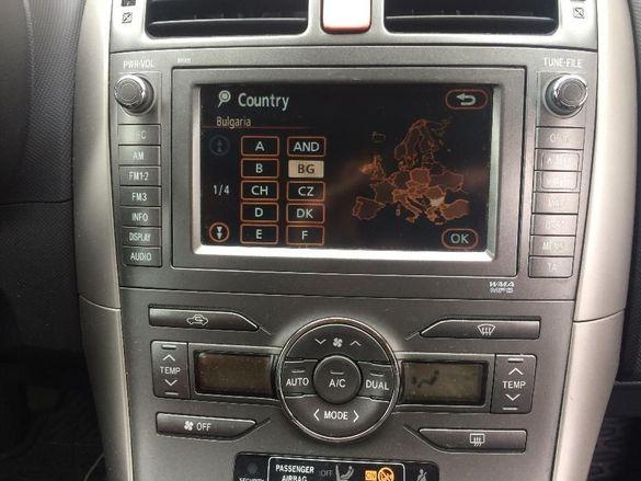 Навигационен диск Toyota Lexus +Американски Тойота Лексус навигация