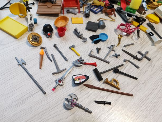 Lot Playmobil, săbii arme unelte multe etc