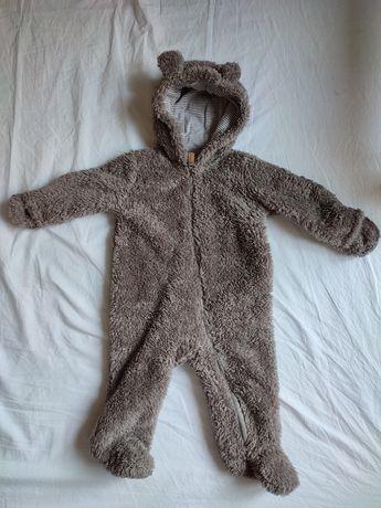 Combinezon bebe model ursuleț, plușat - Carters OshKosh