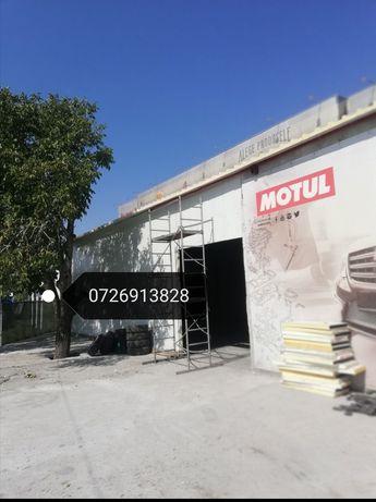Vand hala metalica spalatorii servicii auto depozite garaje la cheie