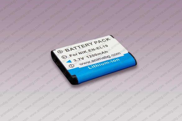 ANIMABG Батерия модел EN-EL19 за Nikon Coolpix