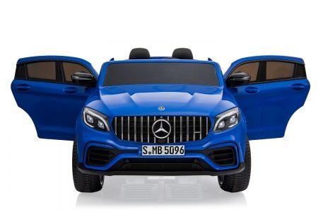 Masinuta electrica pt. 2 copii Mercedes GLC63s 4x4 12V 10Ah #Albastru