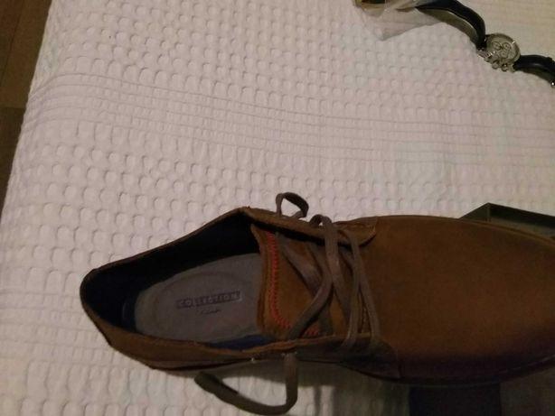 Pantofi piele Clarks 335ron