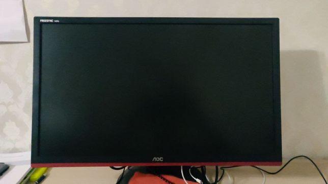 Игровой монитор AOC G2460PF, 24 дюйма, 144 Hz, 1 мс время отклика