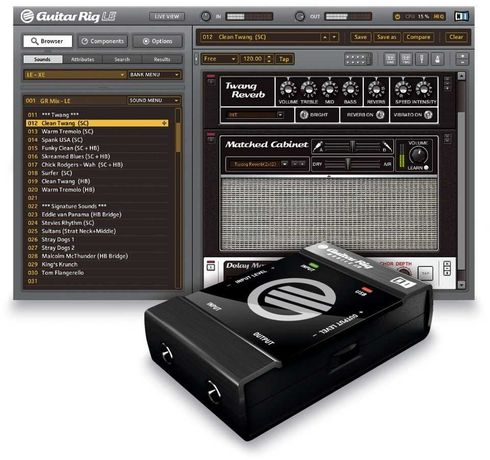 Gguitar Rig Mobile  Interface