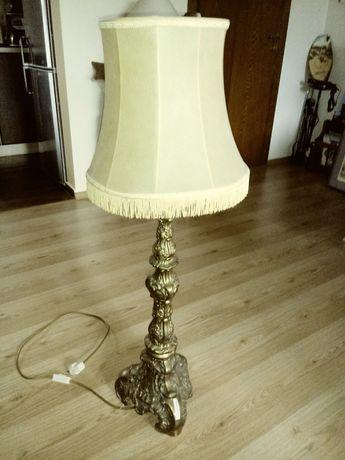 Масивна месингова нощна лампа