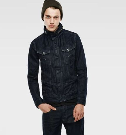 G-Star Raw Arc chopper 3d slim jacket color 3d raw denim