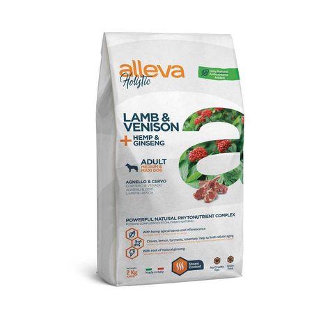 Alleva Holistic Корм для собак с ягненком и олениной, 2 кг