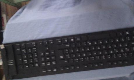tastatura flexibila din cauciuc pentru PC,Laptop putin folosita .