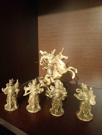 Statuete chinezesti bronz masiv