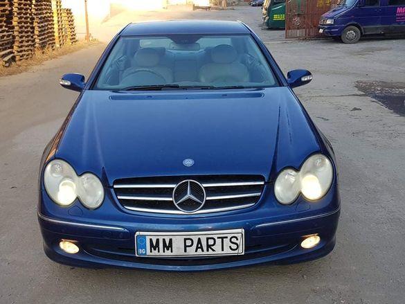 Mercedes CLK270CDI W203 170к.с. автоматик НА ЧАСТИ!