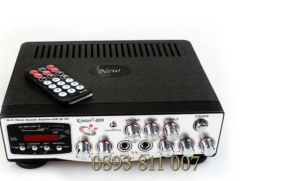 2х200в мощен усилвател/стъпало + караоке- аудио усилвател реални