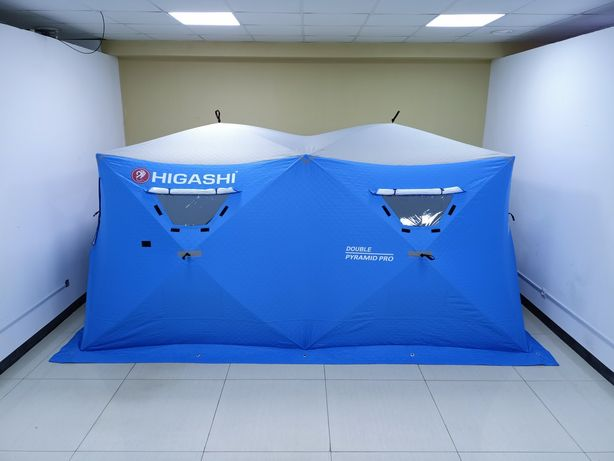 Зимняя палатка HIGASHI Double Pyramid Pro DC (3-слоя) в г.Нур-Султан