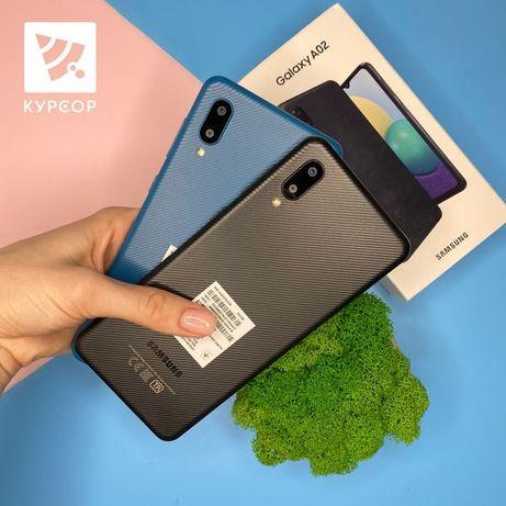 КУРСОР Samsung Galaxy A02 ,2/32GB,5000мАч,Назарбаева 161/Муканова 53