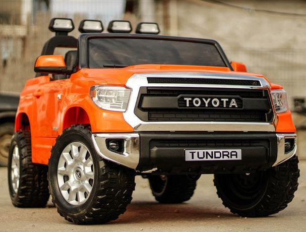 Masinuta electrica pentru 2 Copii, Toyota Tundra 2x45W 12V #Orange
