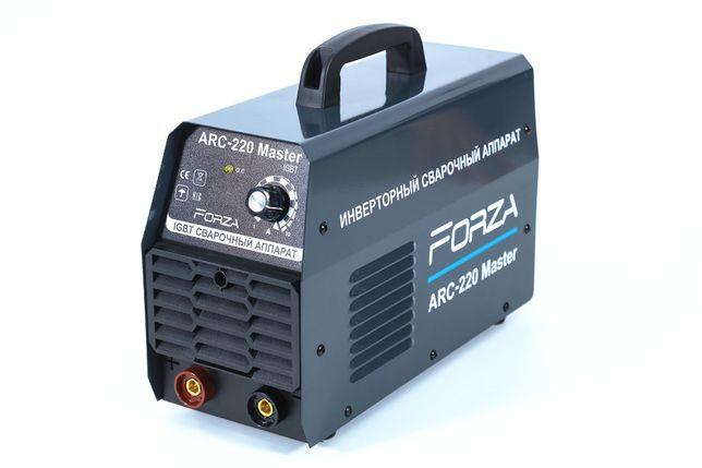 Инверторный сварочный аппарат FORZA ARC-220 Master в наличие в г.Атыра
