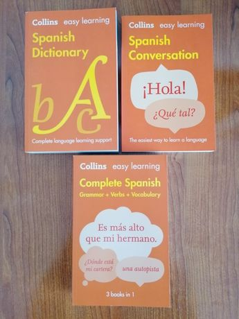 Collins, Complete Spanish, 3 books