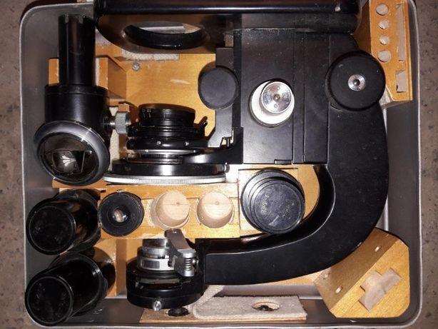 Микроскоп Польский на запчасти Лабораторные принадлежности