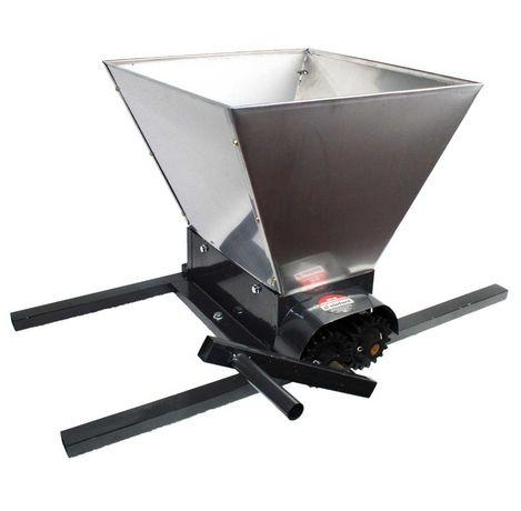 Zdrobitor struguri manual INOX, EUR-HGP-50, 300-500kg/ora, 35l