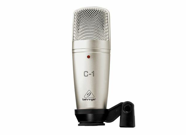 Микрофон Behringer C-1, серебристый