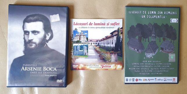 Vand/Schimb Colectie 3 DVD-uri Documentare Arsenie Boca