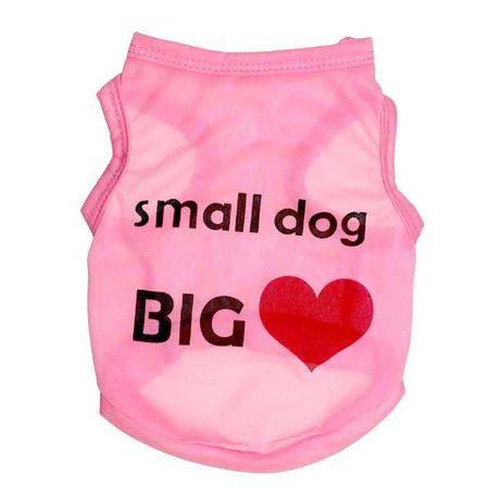 Фанелки за малки кученца размер XS, S