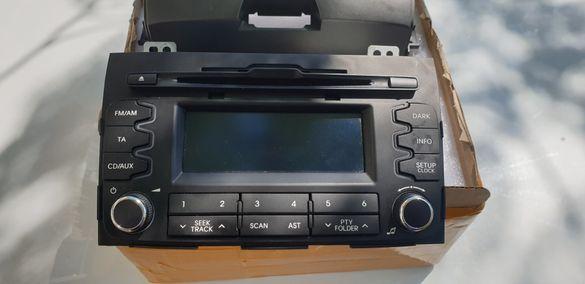 Kia sportage 3 оригинално аудио mp3 cd радио бартер